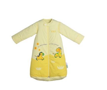 手工婴儿三只熊款睡袋制作图解
