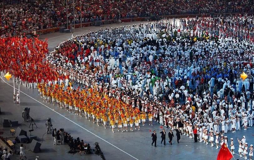 2008奥运会开幕式图片