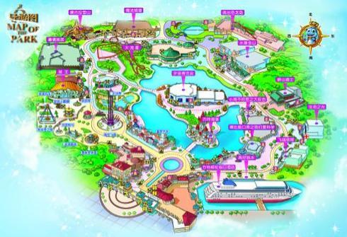 宁波梦幻世界地图