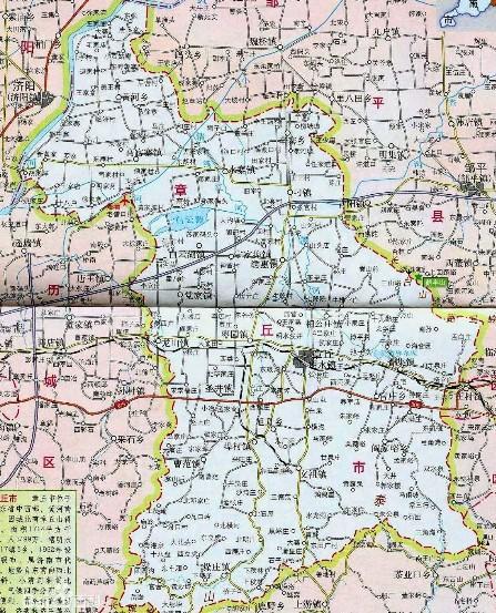 章丘市地图