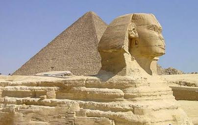 一位美国地质学家发现,狮身人面像所受到的侵蚀表明,它的历史比人们