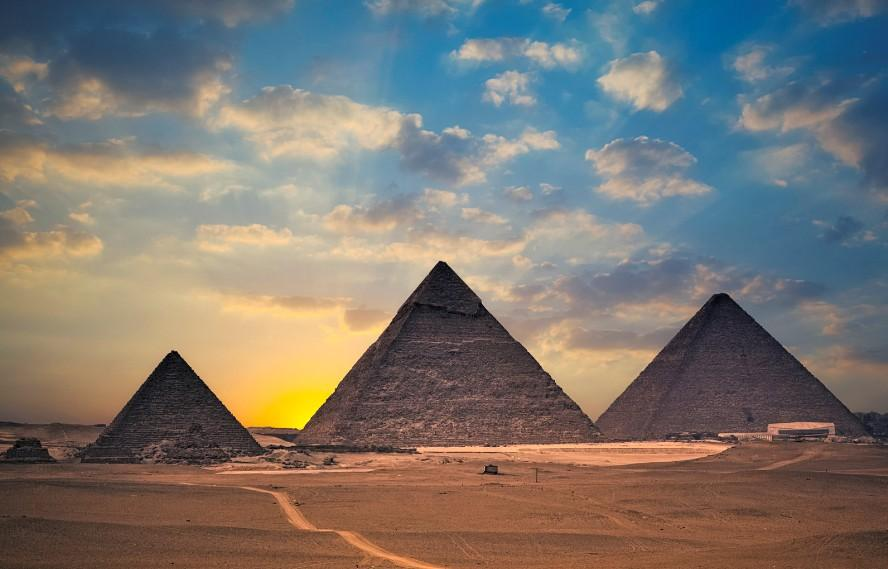 古埃及文明的代表:金字塔图片
