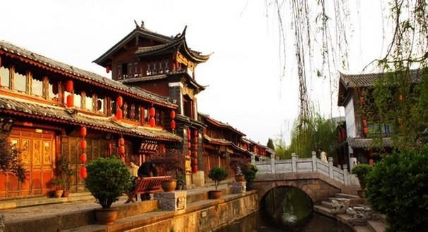 云南丽江古城,1997.12