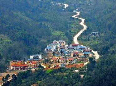 四川崇州葫芦岛风景区