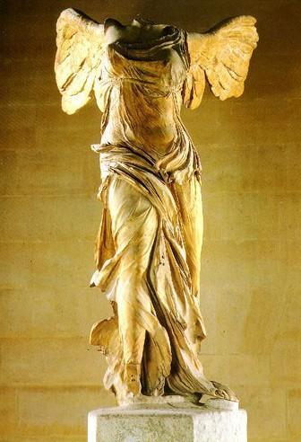 胜利女神(公元前三世纪古希腊石雕刻)