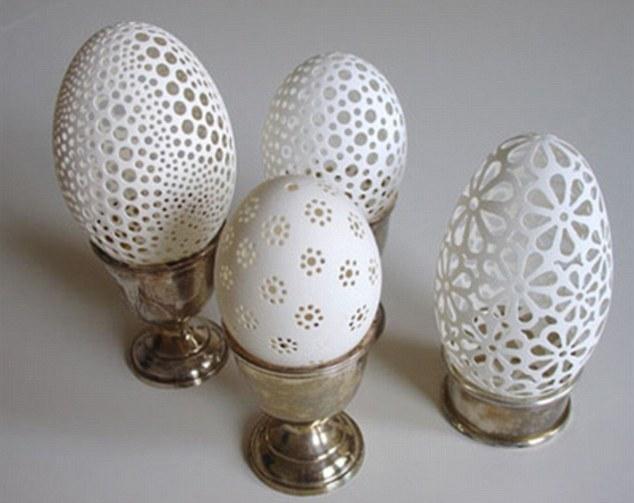 精美的蛋壳艺术(组图) - 九头鸟 - ...欢迎四方博客... ....