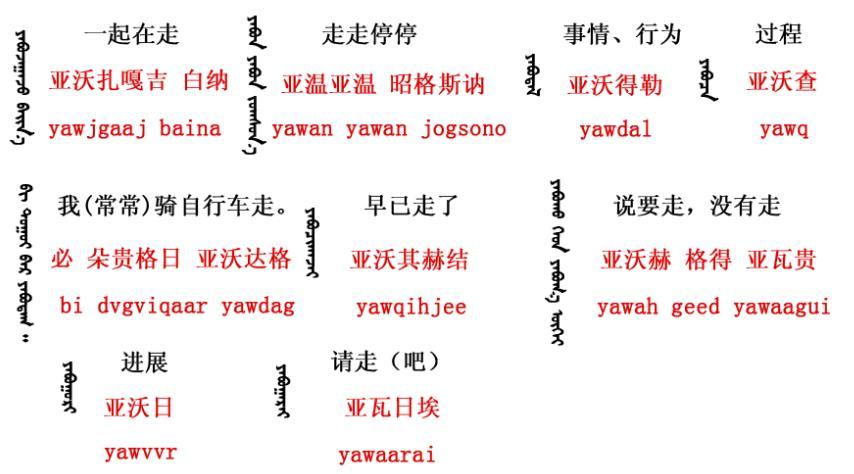 春天来了蒙语歌词图片