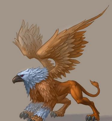欧式花纹浮雕狮鹫