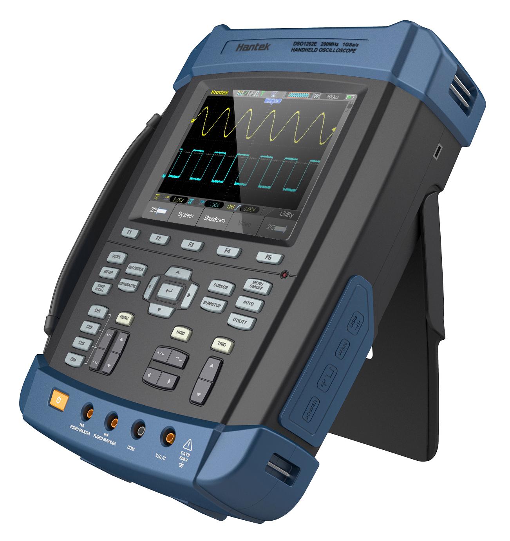 电子示波器_手持示波器是一种手持式的电子测量仪器,用于显示被测量的瞬时值轨迹