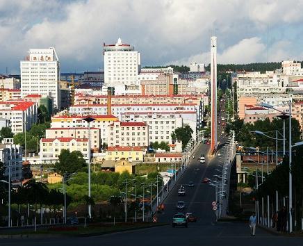 绥芬河大直路红灯区