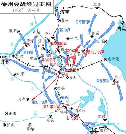 从徐州到山东青岛地图