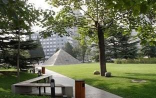 北京电影学院校园风光图片