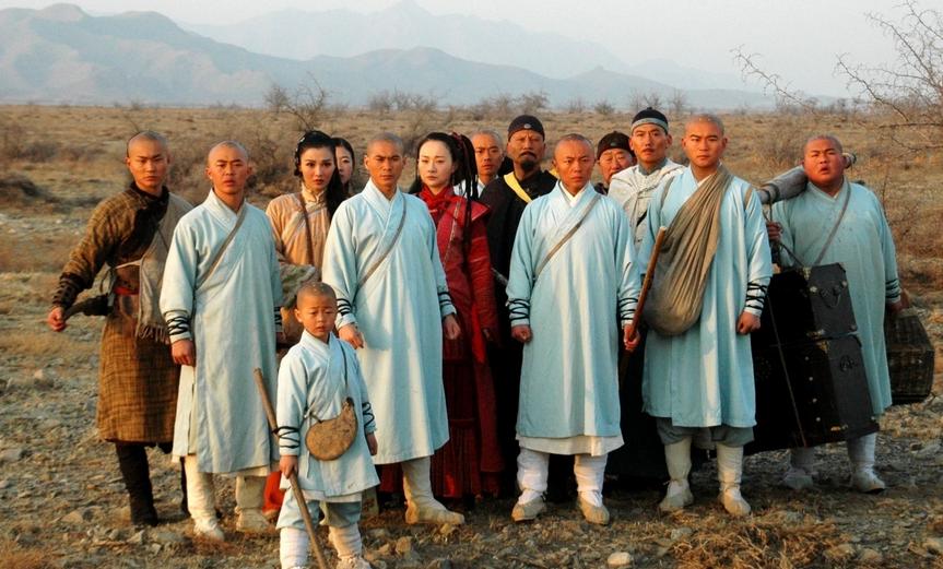 少林寺传奇之大漠英豪图片