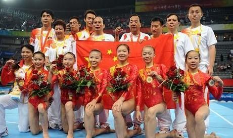 狂操日本女子_中国女子体操队