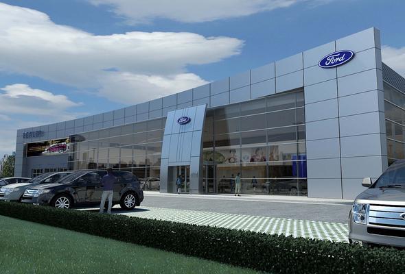 福特汽车公司(英文名图片