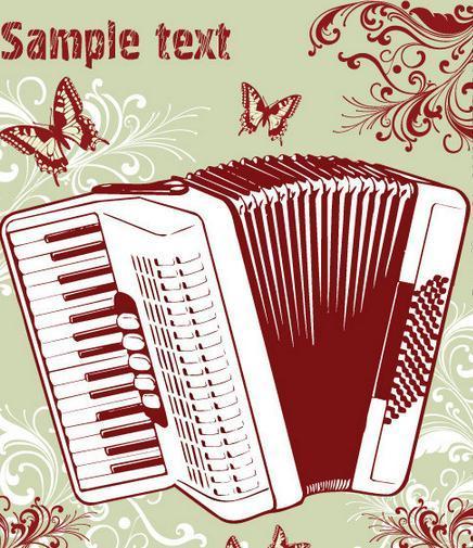 琴的种类和规格很多,从结构,形态上看,大致可分为四类,即全音阶手风琴
