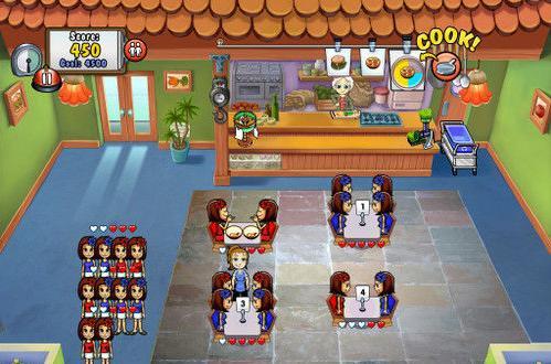 小游戏类 《美女餐厅》游戏截图玛丽亚的茶餐厅
