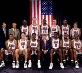 美国梦一队成名于1992年巴塞罗那奥运会,由