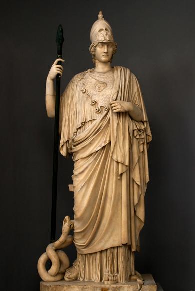 雅典娜(古希腊神话中的智慧,战争,纺织的女神) - 搜狗