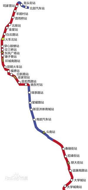 昆明地铁2号线 搜狗百科