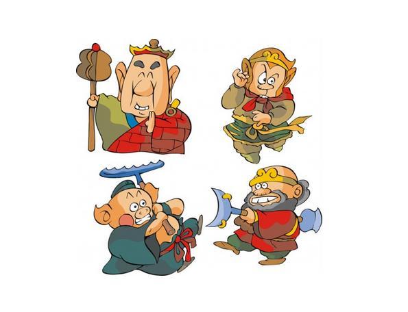 卡通手绘版唐僧