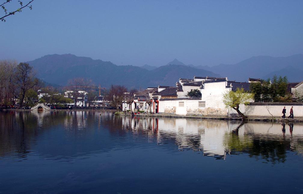 宏村景观小景手绘