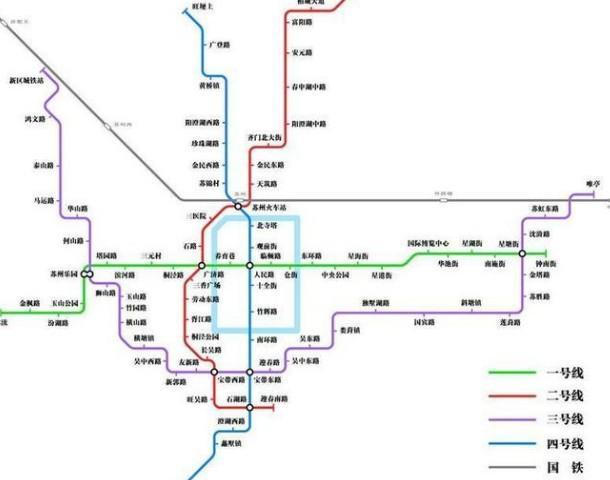 3号线是苏州轨道交通规划中一条东西方向的主干地铁线路,全长44.图片