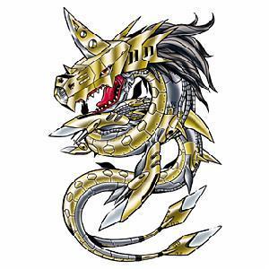 金属海龙兽