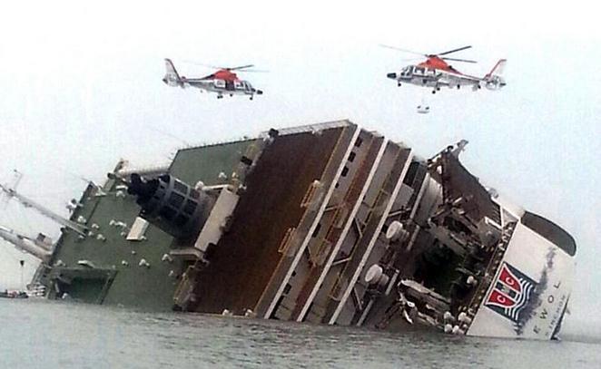 韩国客轮岁月号沉没