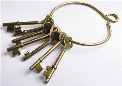 钥匙门四接线柱接线图