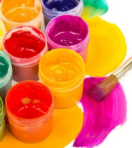 有机颜料一般取自植物和海洋动物,如茜蓝,藤黄和古罗马从贝类中提炼的