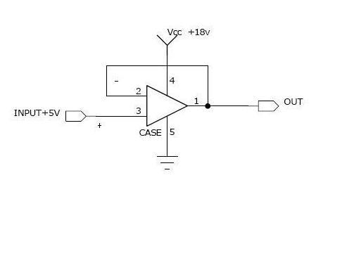 常用电压跟随器芯片_电压跟随器