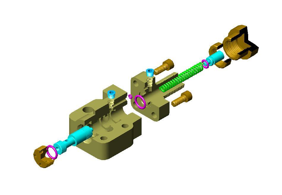 溢流阀是一种液压压力控制阀,在液压设备中主要起图片