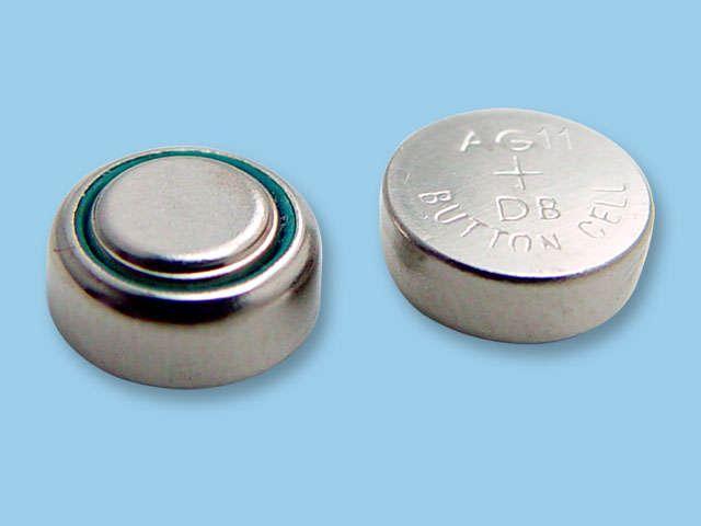 大多数钮扣型电池都是一次电池图片
