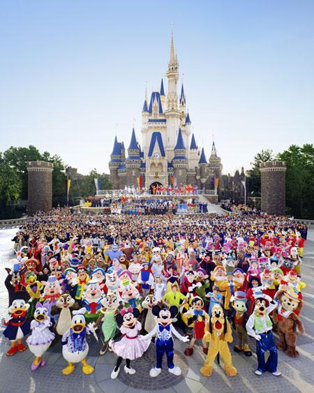 中国上海,香港6处地方建有迪士尼乐园