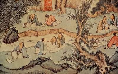 曲水流觞是中国古代
