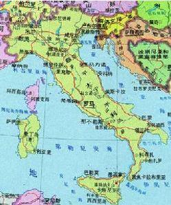 appenninica)形如一只靴子,位于地中海之北,是南欧洲三大半岛之一.图片