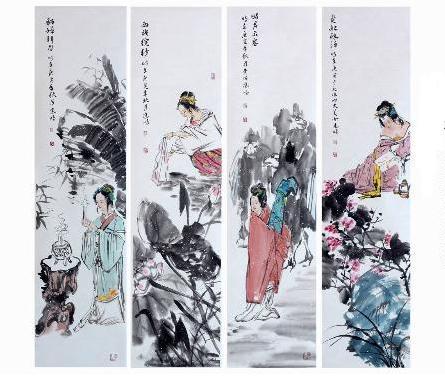 中国古代四大美女是指西施