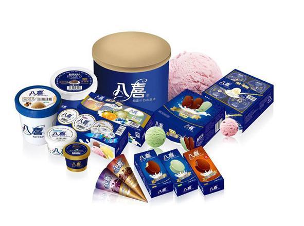 1932年八喜(baxy)冰淇淋诞生于美国旧金山