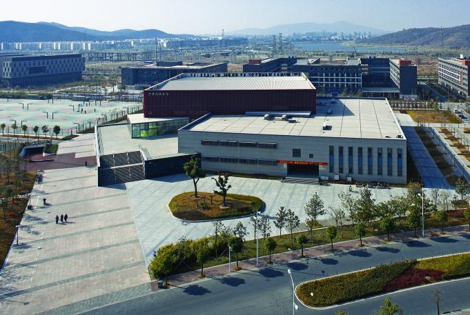 南大仙林校区所在的仙林大学城位于南京城外东北方向图片