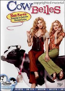 《奶牛美女》海报