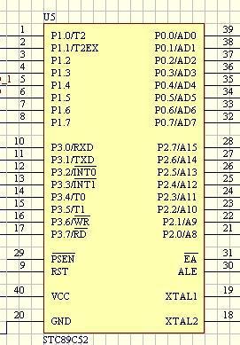 单片机,stc89c52,at89c52,at89s52 区别?下载发生区别