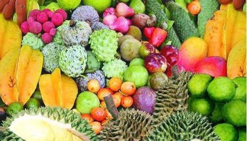 中国的云南,海南地处热带,岛上出产多种热带水果,有些是多数人没见到图片