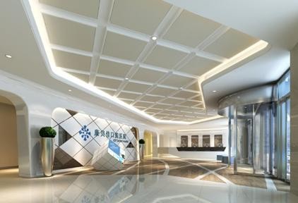 牙科诊所企鹅设计图仙大厅海报设计图片