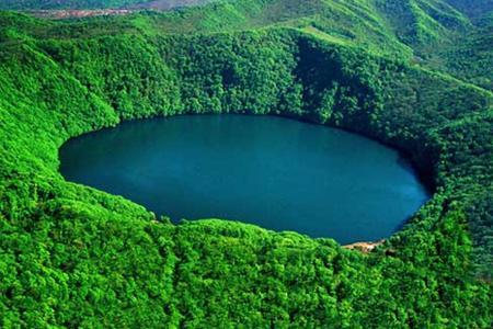 火山口国家森林公园图片