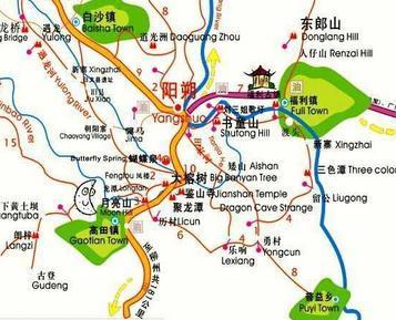 景点位置:阳朔县  景点门票:大榕树门票18元/人(身高1.00米~1.