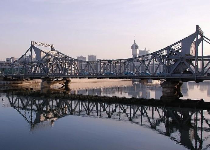 解放桥(天津市海河桥梁) - 搜狗百科