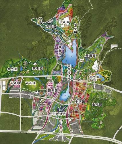 青岛市最新规划图