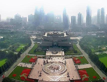 上海人民广场成形于