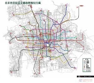 北京地铁图片